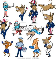 Find Set Collection Cartoon Character Mascot Style stock images in HD and millions of other royalty-free stock photos, illustrations and vectors in the Shutterstock collection. Thousands of new, high-quality pictures added every day. Cartoon Characters, Fictional Characters, Editorial, Royalty Free Stock Photos, Stripes, Illustrations, Artist, Collection, Style