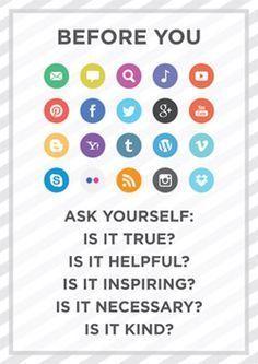 """Various Social Media Accounts, Various Uses."" Blog Post via Tecy Savvy Twenty Something"