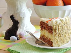 Carrot Cake Cheesecake Cake Bakery Style by WickedGoodKitchen.com ~ Moist carrot cake with a creamy cheesecake layer and the best cream cheese buttercream!