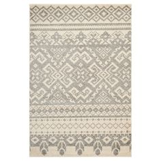 "Adron Area Rug - Ivory/Silver (5'1""x7'6"") - Safavieh"