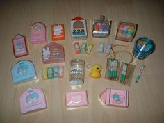 Vintage Sanrio Cased Erasers by lauper♥ann ///*c*\\\, via Flickr