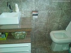 VLOG DA REFORMA   Reforma do banheiro - Casinha Arrumada