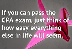 Get #CPAexam passing tips from somebody who just did it.