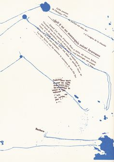 Guy Debord and Asger Jorn, Mémoires, 1959 Guy Debord, Graphic Design Posters, Graphic Design Typography, Publication Design, Magazine Design, Editorial Design, Book Design, Graphic Illustration, Metal Sculptures