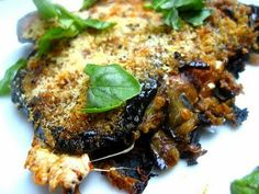 Stacey Snacks: grilled eggplant parm