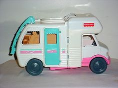 1998 Fisher Price Loving Family Dollhouse RV Dream Vacation Camper Motorhome | eBay