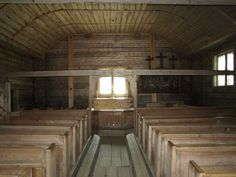 Old wooden church in Sodankyla built in 1689 Grave Monuments, Finland, Graveyards, Old Things, Design Inspiration, Cabin, House Styles, Birches, Building