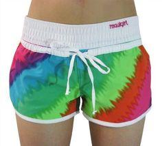 169ed399eefe1 Womens Maulgirl Fitness Surf  Skate shorts Beach  Sport Boardshorts -  Multicolor