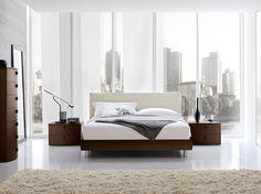 Camera da letto moderna. Modern bedroom.