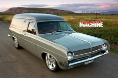 Ian Saxby's cool Holden HD panel van proves the old adage that less is Australian Muscle Cars, Aussie Muscle Cars, Australian Ute, Funny Vintage Ads, Vintage Cars, Holden Muscle Cars, Holden Torana, Holden Australia, Custom Muscle Cars