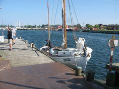 K1054 Karen er netop ankommet fra Svendborg, 6. august 2015