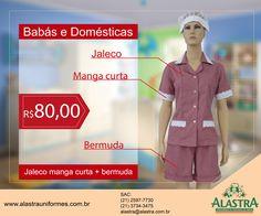 Promoção de lindos uniformes para babás e domésticas!