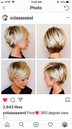 Ide tendance coupe coiffure femme 2017 2018 description long pixie haircut all angles the world cup on wall street australia v s chile Long Pixie Hairstyles, Short Pixie Haircuts, Hairstyles Haircuts, Straight Hairstyles, Haircut Short, Woman Hairstyles, Female Hairstyles, Fashion Hairstyles, Haircut Styles