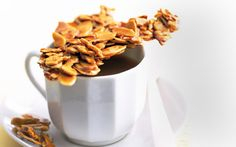 Turn this Almond Brittle into a dried fruit and nut brittle ...