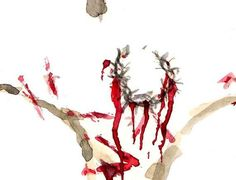 abstract cross art   Religious Art Abstract Painting of Jesus on by KWhiteselCreations, $20 ...