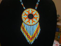 native american necklace, by deancouchie on Etsy