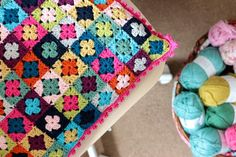 Cherry Heart: Emergency Cushion. Link for pattern in post.