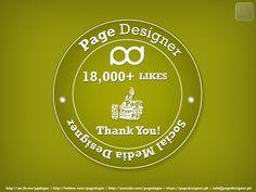 18000+ fans on facebook http://on.fb.me/pgdsgnr