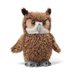 "Amazon.com: Gund Owl Beanbag 8"" Plush: Toys & Games"
