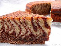Con sabor a canela: Bizcocho cebra ( zebra cake )