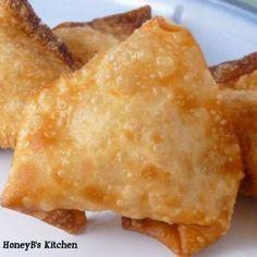 Crab Rangoon #crab #appetizer #asian
