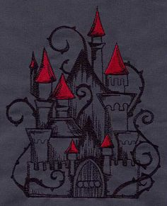 Embroidery Designs at Urban Threads - Dark Fairytales (Design Pack) Arent these designs amazing?