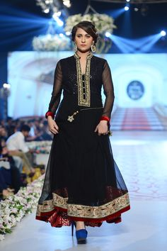 Nauman Afreen Bridal Collection at PBCW 14 Day 3