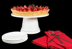 Crostata di Fragole con Crema Pasticcera e Chantilly (Strawberry Tart)