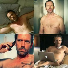 Hugh Nude, Nude Hugh...sorry just swallowing my heart