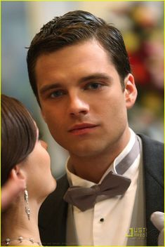 Sebastian Stan. Once Upon A Time. His eyes drive you mad. (Get it? Because he's the Mad Hatter!! HA HA!)