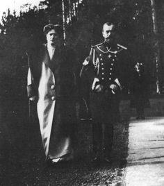 "Tsar Nicholas ll of Russia and Empress Alexandra Feodorovna of Russia. ""AL"""