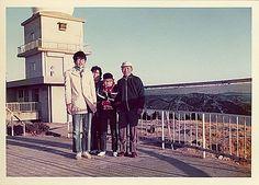1975年1月1日 呉市灰ケ峰気象レーダー前