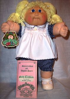Cabbage christian doll patch