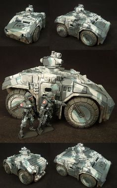 28mm alien miniatures | Studio McVey Forums: Khurasan Miniatures 28mm 'Aliens' APC is out ...