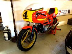My JB Racing Ducati Pantah 500 RR now for sale through http://www.mathercollectables.com/