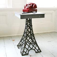 Eiffel Tower Table.