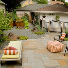 Have an unused space in your yard where you want to enjoy the sunshine? A simple courtyard is easy to maintain and easy to build with pavers for the patio. See how easy it is to build a patio courtyard for you and your home. Photo courtesy of Jason Rathe, Field Outdoor Spaces