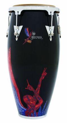 "Latin Percussion Aspire Santana Abraxas Angel Wood Tumadora, 12-inch by Latin Percussion. $194.05. A new exclusive design featuring arwork from the classic Santana album. ""Abraxas""."