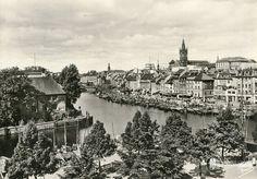 Кёнигсберг. Вид с Липового рынка на Альтштадт и Королевский замок. Фото ок. 1930 года, Фритц Краускопф.