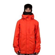 The Glacier Vector Burnt Orange Jacket by 686 will keep you warm and dry no matter what the elements throw at you.