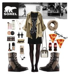 """The Major Collection from SOREL"" by natasag ❤ liked on Polyvore featuring SOREL, SPANX, Ally Fashion, Sheridan, Alexander McQueen, GUESS, Tarina Tarantino, MANGO, Casetify and Monster"