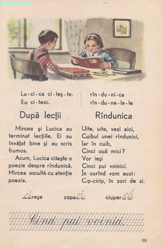 Abecedar 1959 – Un zâmbet de copil… Romanian Language, Vintage School, After School, Kids Education, Golden Age, My Childhood, Vintage World Maps, Nostalgia, Classroom