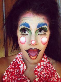 #clown I like the lips