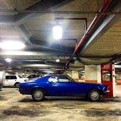 1968 Mustang, en el C.C. El Recreo