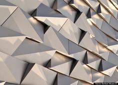 titanic belfast museum: facade