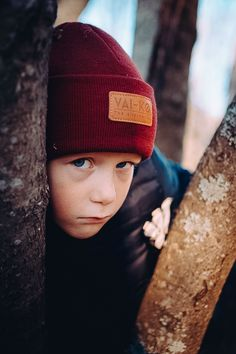 f874a5cbcfb Outdoor adventure Wool beanie for Kids. Burgundy beanie look for kids. Kids  Beanies