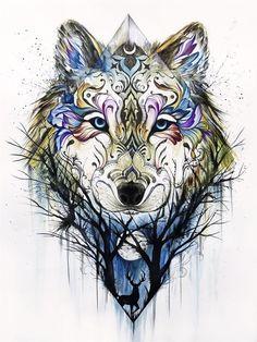 The wolf Haris Rashid 705  940 Apr 16 2015