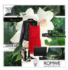 """""""Red and green magic"""" by zina1002 ❤ liked on Polyvore featuring Calvin Klein and Friend of Mine"""