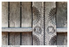 """Carved Wooden vernacular shed door detail built by """"Pasco of the Salaje"""" (county Salaj) in Berbesti, Maramures. Dimitrie Gusti National Village Museum (Muzeul Satului) in Bucharest, Romania Vernacular Architecture, Architecture Details, Asturias Spain, Shed Doors, Lake Photography, Door Detail, Bucharest Romania, Door Handles, Museum"""