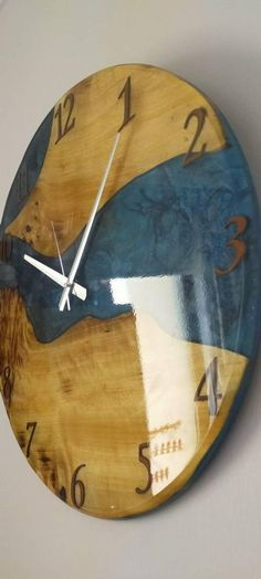 #homeliving #homedcor #clocks #rusticwoodclock #wallclock #woodenclock #artdecorwallclock #uniquewallclock #rusticdecor #wooddecor #weddinggift #coolclocks #earthtonedclock #woodlandclock #epoxyclock #earthtonedresin Cool Clocks, Unique Wall Clocks, Rustic Wood, Rustic Decor, Clock Repair, Wooden Clock, Wood Resin, Marine Life, Earth Tones
